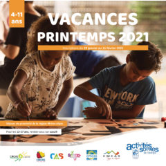 Catalogue vacances printemps 2021